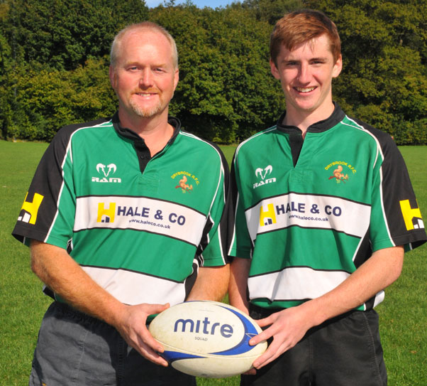 Old Richians Rugby: Keeping It In The Family « Drybrook Rugby Club